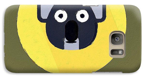 The Koala Cute Portrait Galaxy S7 Case by Florian Rodarte