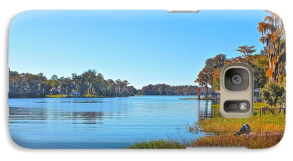 Galaxy Case featuring the photograph The Lake by Cyril Maza
