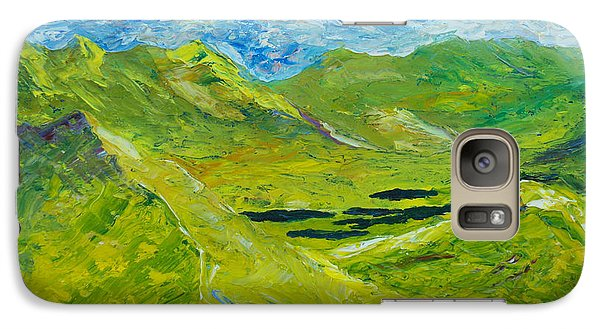 Galaxy Case featuring the painting The Lakes Of Killarney  Original Sold by Conor Murphy