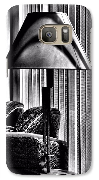 Galaxy Case featuring the photograph The Lamp In The Lobby by Bob Wall