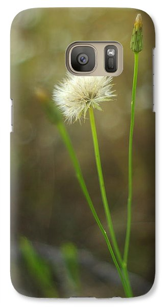 Galaxy Case featuring the photograph The Last Dandelion by Suzanne Powers