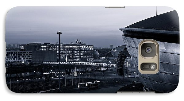 Galaxy Case featuring the photograph The Last Of The Light At The Hydro by Stephen Taylor