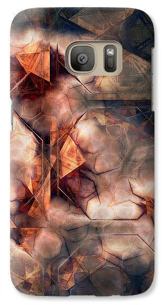 Galaxy Case featuring the digital art The Last Stand by Kim Redd