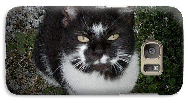 Galaxy Case featuring the photograph The Late Great Polka Dot by Cynthia Lassiter