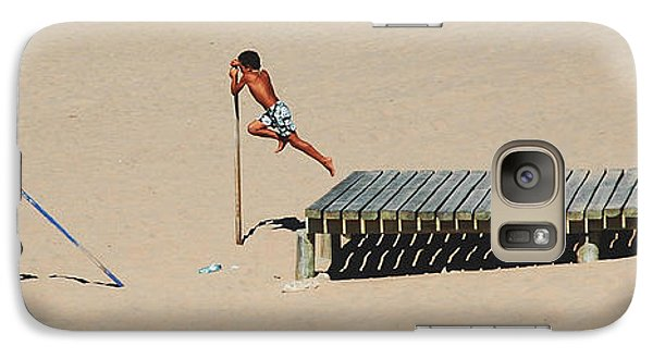 Galaxy Case featuring the photograph The Leap by Luis Esteves