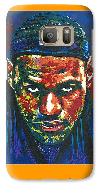 The Lebron Death Stare Galaxy S7 Case