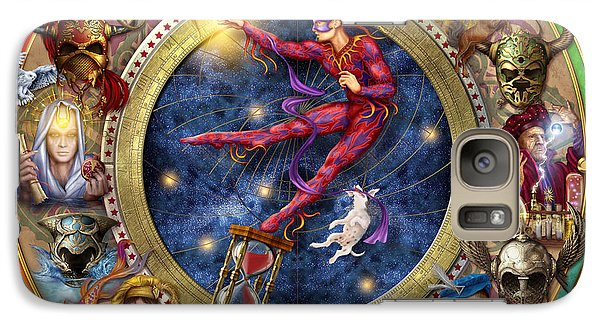 The Legacy Of The Devine Tarot Galaxy S7 Case by Ciro Marchetti