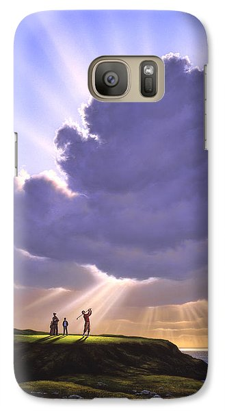 Sports Galaxy S7 Case - The Legend Of Bagger Vance by Jerry LoFaro