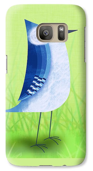 The Letter Blue J Galaxy S7 Case