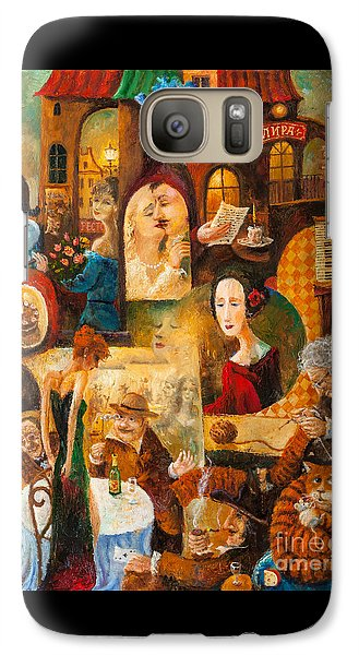 Galaxy Case featuring the painting The Letter by Igor Postash