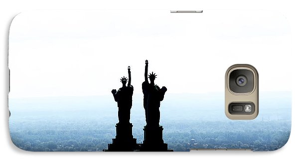 Galaxy Case featuring the photograph The Liberty Building by Jim Lepard