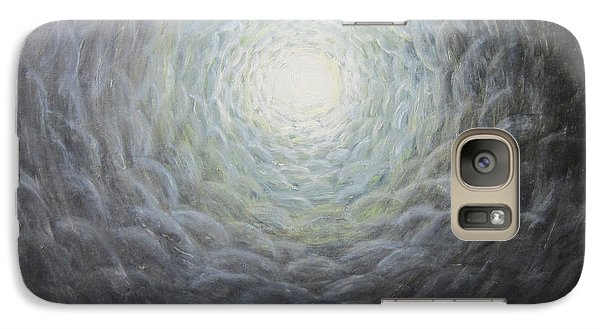 Galaxy Case featuring the painting The Light by Cheryl Pettigrew