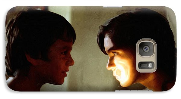 Galaxy Case featuring the digital art The Light In Their Eyes by Spyder Webb