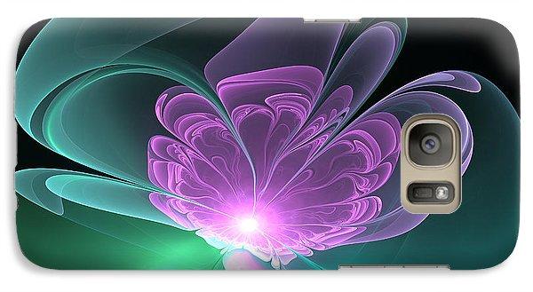 Galaxy Case featuring the digital art The Light Inside  by Svetlana Nikolova