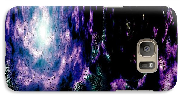 Galaxy Case featuring the digital art The Light Within by Annie Zeno