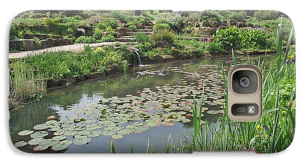 Galaxy Case featuring the photograph The Lily Pond At Rhs Wisley by Jayne Wilson
