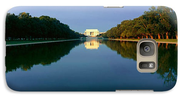 The Lincoln Memorial At Sunrise Galaxy Case by Panoramic Images