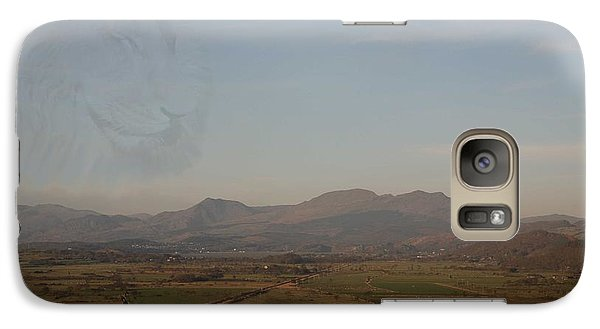 Galaxy Case featuring the photograph The Lion by Christopher Rowlands