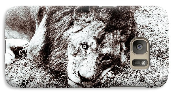 Galaxy Case featuring the photograph The Lion Sleeps Tonight by Wade Brooks
