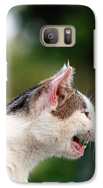Galaxy Case featuring the photograph The Lion Within by Lorna Rogers Photography