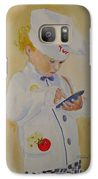 The Little Chef Galaxy S7 Case by Beatrice Cloake