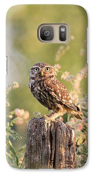 The Little Owl Galaxy S7 Case