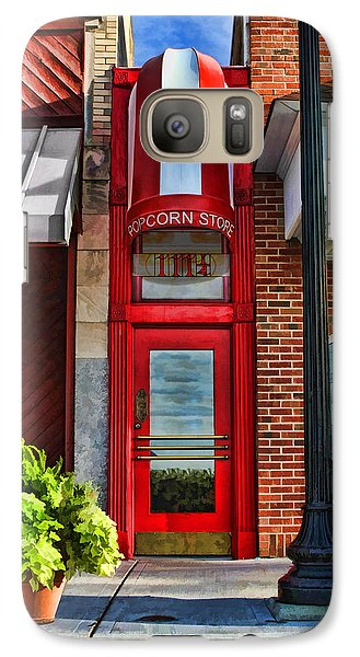 The Little Popcorn Shop In Wheaton Galaxy S7 Case