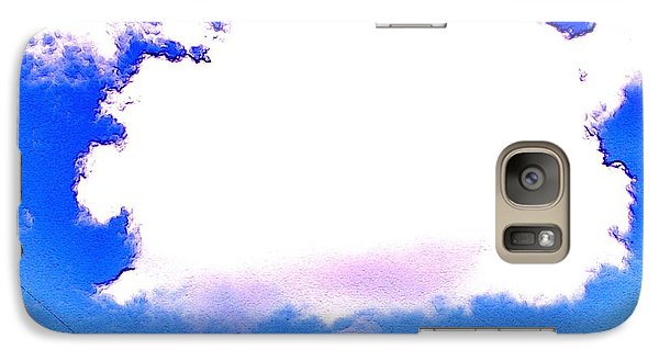Galaxy Case featuring the photograph The Little White Cloud That Cried by Sadie Reneau