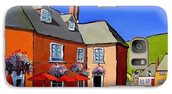Galaxy Case featuring the painting The Local by Jo Appleby