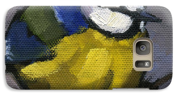 Galaxy Case featuring the painting The Lone Ranger by Nancy  Parsons