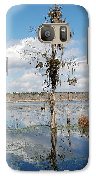 Galaxy Case featuring the photograph The Lone Tree by Kathy Gibbons