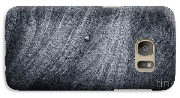 Galaxy Case featuring the photograph The Lonely Pebble by Julie Clements