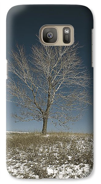 Galaxy Case featuring the photograph The Loner I by Jessie Parker