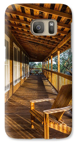 The Long Porch Galaxy S7 Case by Beverly Parks