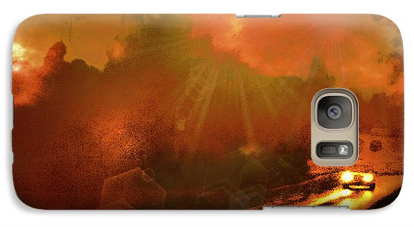 Galaxy Case featuring the photograph The Long Road Home  by Fine Art By Andrew David