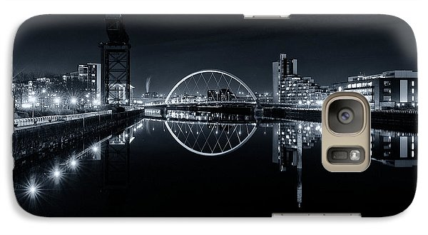 Galaxy Case featuring the photograph The Long View Down The Clyde by Stephen Taylor
