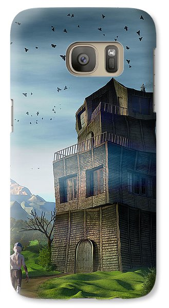 Galaxy Case featuring the digital art The Longest Day by Matt Lindley