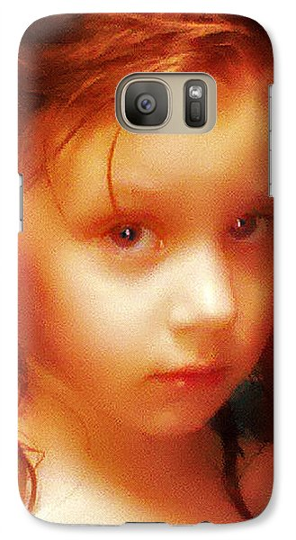 Galaxy Case featuring the photograph The Look by Kelly Reber