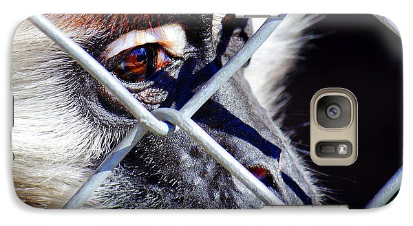 Galaxy Case featuring the photograph The Look Of Despair by Jason Politte