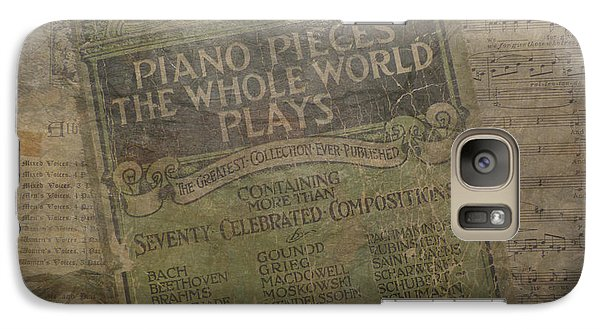 Galaxy Case featuring the photograph The Lords Prayer Music by Cindy Wright