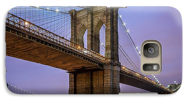 Galaxy Case featuring the photograph The Love Of Brooklyn  by Anthony Fields