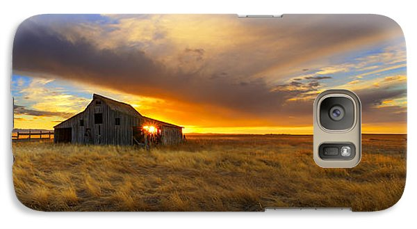 Galaxy Case featuring the photograph The Low Clouds by Kadek Susanto