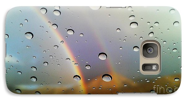 Galaxy Case featuring the photograph The Luck Of Rain by Chris Tarpening