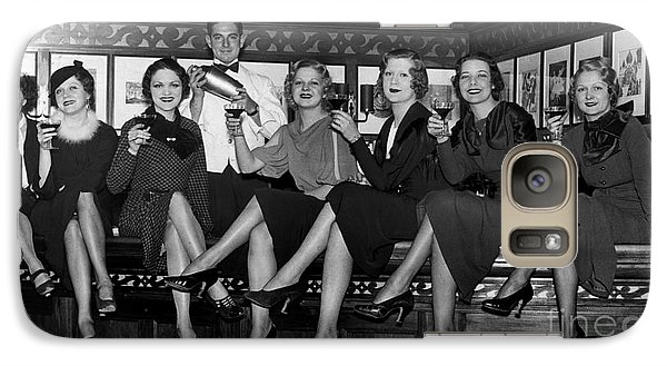 The Lucky Bartender Galaxy Case by Jon Neidert