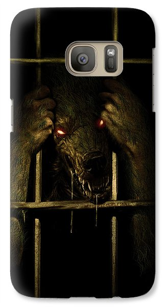 Galaxy Case featuring the digital art The Lycan by Jeremy Martinson