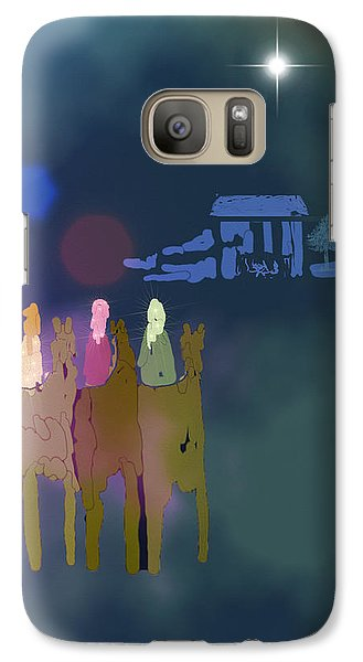 Galaxy Case featuring the digital art The Magi by Arline Wagner