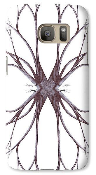 Galaxy Case featuring the drawing The Magic Of Nature by Giuseppe Epifani