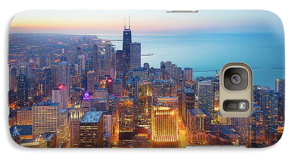 Sears Tower Galaxy S7 Case - The Magnificent Mile by Michael Zheng