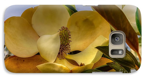 Galaxy Case featuring the photograph The Magnolia by Maddalena McDonald