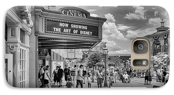 Galaxy Case featuring the photograph The Main Street Cinema by Howard Salmon